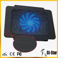 Quality Hot sell and good price laptop cooling pad with single fan wholesale