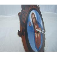 Quality Creative Round Acrylic Picture Frame Clocks Diy For Personality Gift wholesale