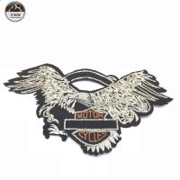 Quality Personalized Sequined Embroidered Eagle Patches Cartoons Image For Clothing wholesale
