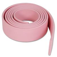 China Blue Pink Poly Coated Nylon Webbing for Dog Collar and Leash on sale
