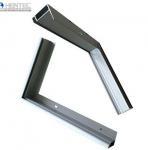 Quality Customerized Powder Spray Coated Frames For Solar Panels / 6063 / 6061 / 6060 wholesale