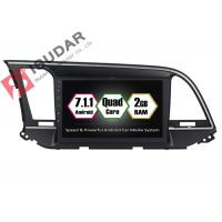 Quality 9 Inch All Touch Panel Android Car Entertainment System Car Stereo For Hyundai Elantra  2014 wholesale