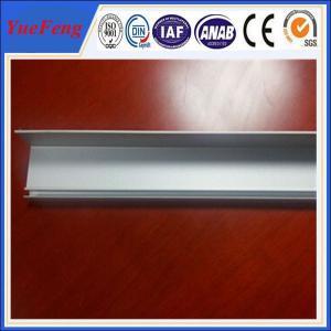 China Aluminum extrusion solar panel frame/ Aluminum solar profile frame on sale