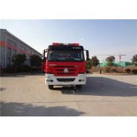 Quality HOWO Chassis Motorized Commercial Fire Trucks wholesale