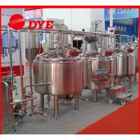 Quality CE approved 500l mash tank home beer brewing machine brew equipment wholesale