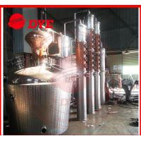 Quality Manual Commercial Distilling Equipment , Rum / Brandy Pot Still wholesale