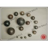 China Diam 80mm Cement Grinding Balls , Grinding Media Balls For Cement Plant on sale
