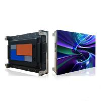 China Indoor 400x300mm ultra thin die casting aluminum P1.923 hd  small pixel pitch led wall display screen on sale