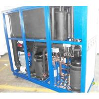 Quality High Efficiency Punp Controller Industrial Water Cooled Glycol Chiller With r22 Refrigeration wholesale