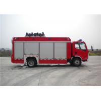 Quality 8 Ton 2 KW Light Fire Truck Wireless Controlling With Auxiliary Lighting wholesale