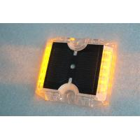 Quality 12 LEDs Solar Powered Road Studs 115×105×20 MM -20°C +70°C Work Temperature wholesale