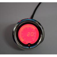 Quality Racing Exhaust Gas Temp Universal Auto Gauges With 60mm 7 Color Stepper Motor wholesale