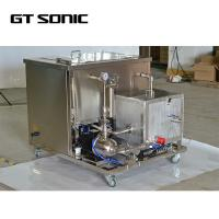 Quality Multi Frequency Industrial Ultrasonic Tank , Mental Parts Cleaner 96L 1440W With Filtration wholesale