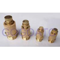 Quality Brass Regulated Control Silencer Quick Connect Hose Fittings BESL Pneumatic Air Muffler wholesale