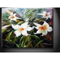 China Interior House Landscape Paint Handmade Oil Painting, Wall Picture with Flower YXHHG1229 on sale