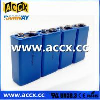 Cheap CR9V 850mAh 9v lithium battery for Alarms and security devices for sale