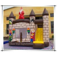 Quality Colorful Inflatable Bouncy Castle, Jumping Castles with Slide (CY-M2073) wholesale
