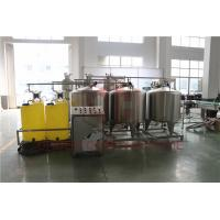 Quality Automated Fruit Juice Making Machine With CIP Cleaning System Bottle Washing wholesale