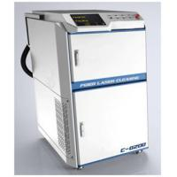 China Non - Contact Laser Rust Removal Machine For Clean Auto Parts / Rubber Mould on sale