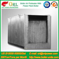 Quality Natural Gas Industry 10 Ton Ponderance 150 MW APH Heating Boiler Air Preheater wholesale