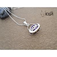 Quality Low MOQ sterling silver gemstone pendant with factory price W-VB930 wholesale