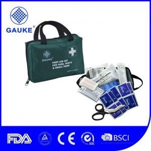China Handy Basic Truck Safety Kit , Emergency Roadside Assistance Kit Green Color on sale