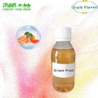 Quality High Quality Fruit Aroma Concentrate Grape Fruit Flavor Diy E Juice wholesale