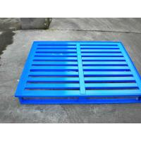 Quality Environment Lightweight Strong Rackable Steel Pallets For Industrial wholesale