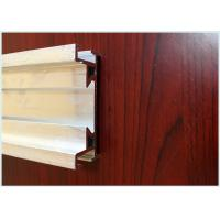 Buy cheap 6063 T3 / T8 Alloy Aluminium Moulding Profiles , Silvery Industrial Aluminum from wholesalers