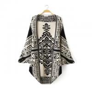 China European fashion  jacquard shawl knitting cloak double side wear  womens' fashion sweater on sale