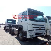 China SINOTRUK HOWO 6x4 tractor truck 371 HP trailer head, HOWO loading 40t prime mover truck, Euro 2 on sale