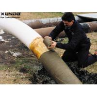 Quality Petrolatum Petroleum Wax Pipe Protection Tape Coating For Exterior Of Steel Pipe Fittings wholesale