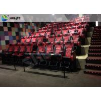 Quality Playground Center 4D Local Movie Theaters Electric System With Blue Movement Chairs wholesale