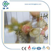 Quality Solid Clear / Colored Frosted Patterned Glass for office conference rooms wholesale