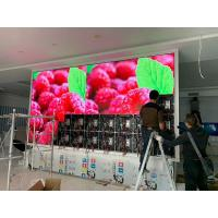 China Indoor p2.5 video led screen rental stage background rgb display smd module on sale