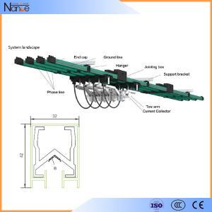 Quality Aluminum Multiple Conductor Rails , 3 Phrase Power Distribution System wholesale