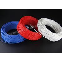 Quality FEP / FEP CMP High Temperature Wire1 X 1000 Ft 24 / 2 Stranded Shielded Plenum wholesale