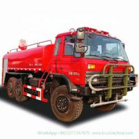 All Wheel Drive 6X6 Fire Water Tanker off Road Truck (Dongfeng Left Right Hand Drive) Water Tank 8000liters with Fire Montior, Fire Pump