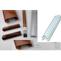 Buy cheap External Corner Smooth Rigid Plastic Extrusion Shapes Laminated Weather from wholesalers