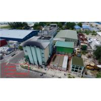 Quality Maldive Power House Building Steel Frame With 3 - Layers Epoxy Painting wholesale