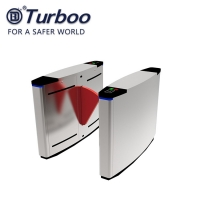 Quality Wide Pass 900mm Retractable Pedestrian Barrier Gate With Red Soft Leather Baffles wholesale