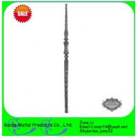 Quality wrought iron metal iron balusters for iron window grills wholesale
