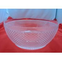 Quality Customized Food-grade 100%  Clear Acrylic Bowl For Fruit Salad wholesale
