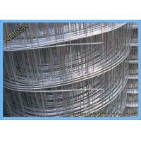 China Hot DIP / Electro Galvanized Welded Wire Mesh 0.8mm * 1.5m High for Afghanistan on sale