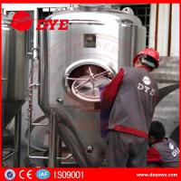 Cheap Durable Beer Brewing Equipment Conical Fermenter 50mm 80mm 100mm Thickness for sale