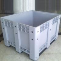China Plastic Pallet Bin Box For Cargo Fruits Vegetables Plastic Storage Box on sale