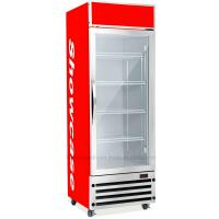 Quality 350L Upright Display Fridge , Auto Defrost Refrigerated Display Cooler wholesale