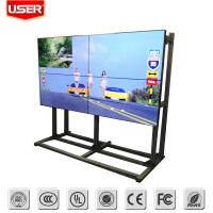 Quality ultra slim bezel lcd tv walls,indoor advertising lcd screen wholesale
