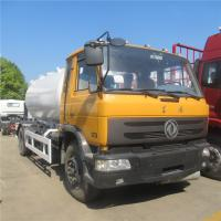 Quality HOT SALE! dongfeng 4*2 LHD 10cbm-15cbm mobile lpg gas dispensing truck, cheaper price 5tons propane refilling vehicle wholesale