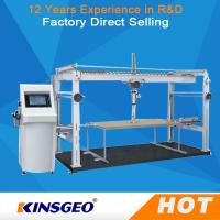 Quality PLC Touched Screen Control Durability Furniture Testing Machine For Office Furniture  With One Year Warranty wholesale